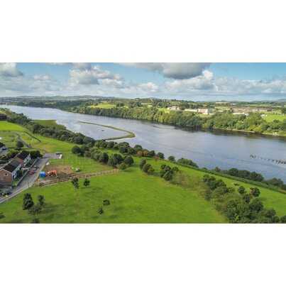 GPS PE Orange provides a bespoke solution for a gas main crossing the River Foyle in Ireland